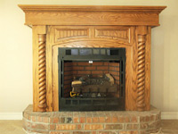 FIREPLACE MANTELS & ENTERTAINMENT CENTERS